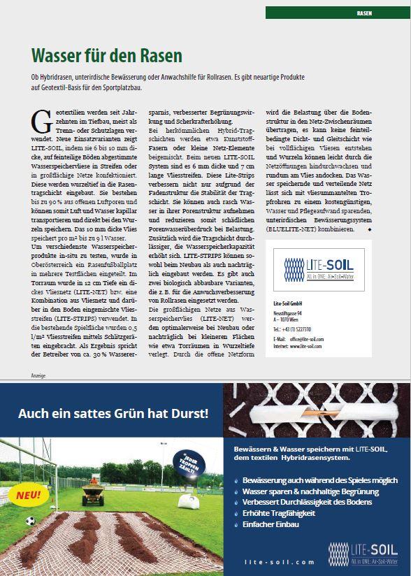 Kompendium Sportplatz 2020 Stadionwelt Lite-Soil