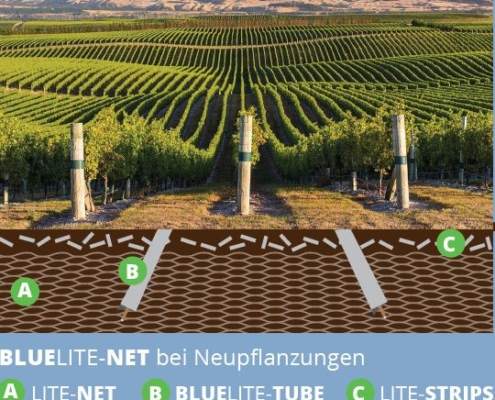 Champs d'irrigation Viticulture Vergers fruitiers LITE-SOIL