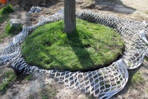 LITE-NET Baumgrubennetz Bewässerung Bäume