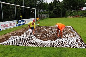 LITE-NET-LITE-STRIPS Fussballplatz