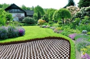 LITE-NET im Garten